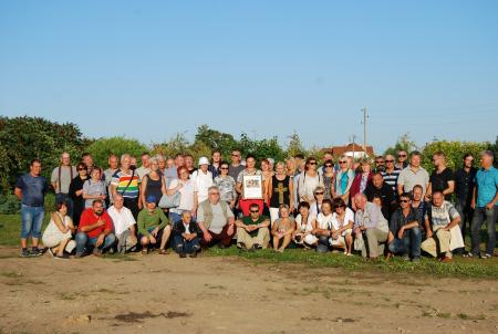 Experts of project InnoFruit and fruit-growers in Latvia