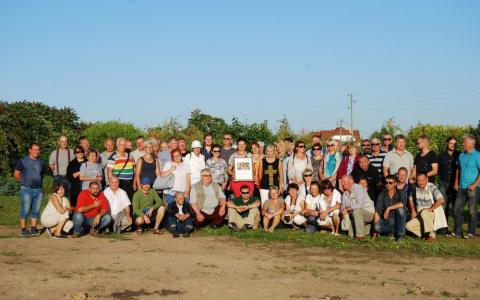 Participants of InnoFruit expert visit in Latvia